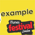 Example at iTunes Festival 2012 Special